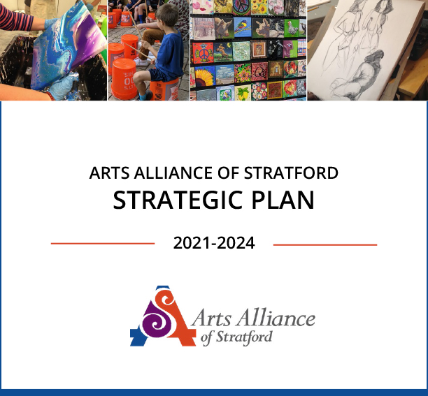 Arts Alliance of Stratford Strategic Plan, 2021 - 2024