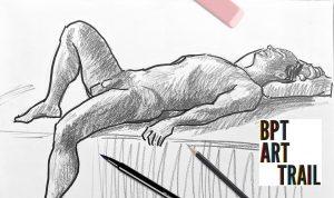 Virtual Figure Drawing on the Bridgeport Art Trail @ Zoom Videoconferencing