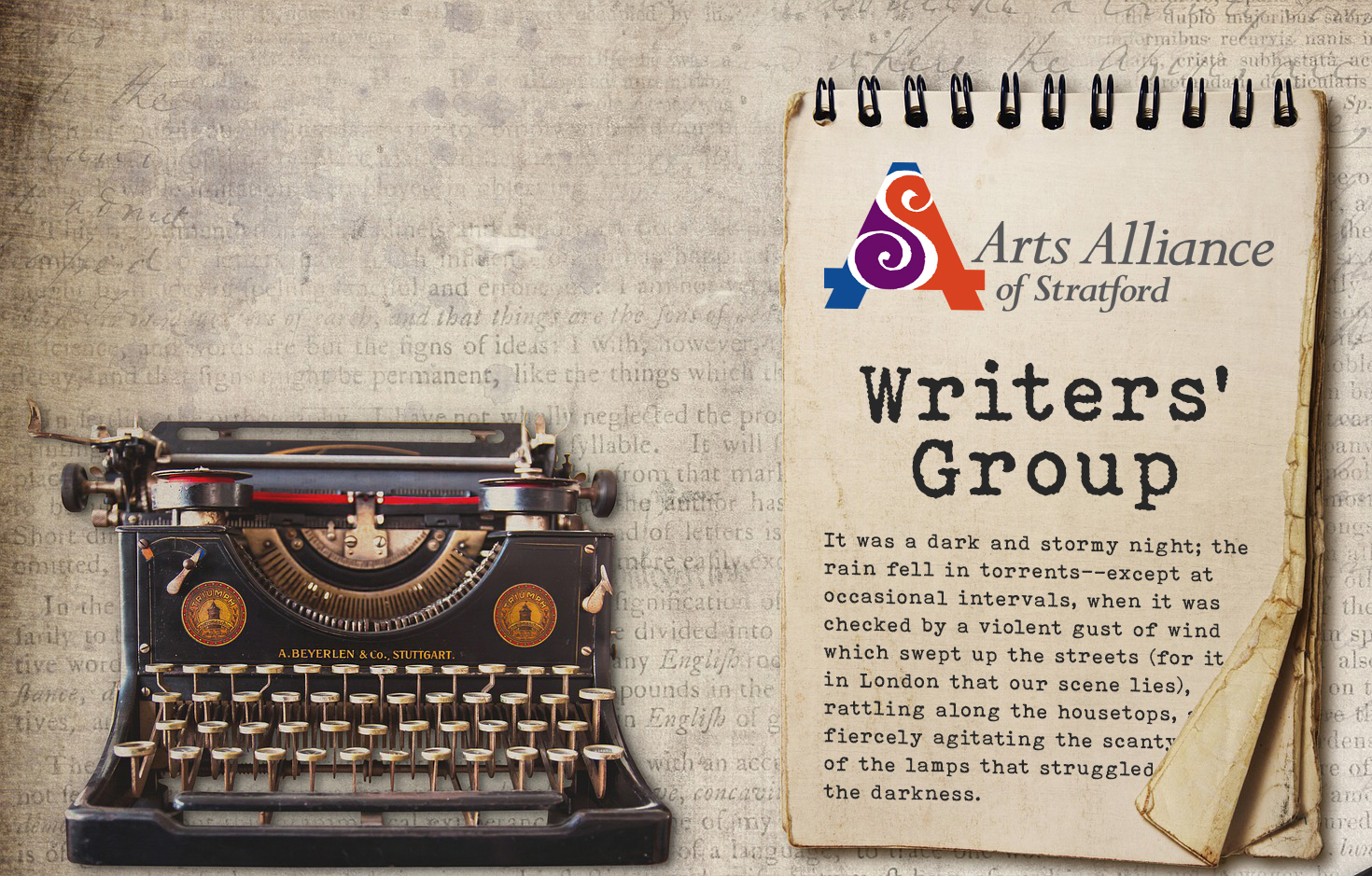 Arts Alliance of Stratford Writers' Group