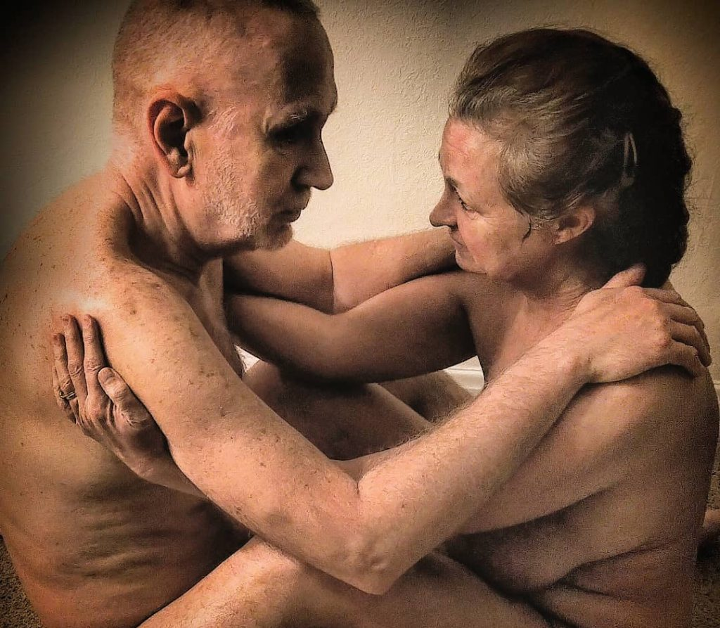 Our models will be Richard & Ruth, a mature couple from London