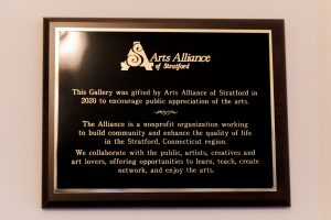 Sterling House Gallery Plaque